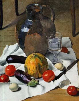 Still Life with Large Earthenware Jug